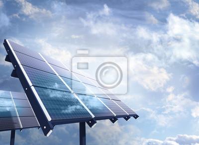 Industrielle Photovoltaik-Anlage