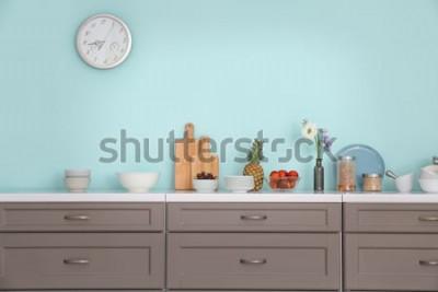 Sticker Innenraum der modernen Küche