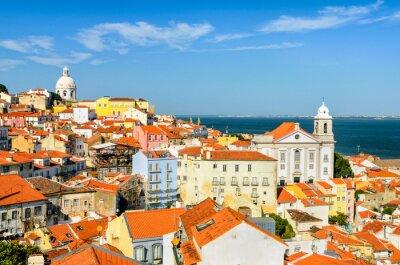 Innenstadt von Lissabon, Portugal