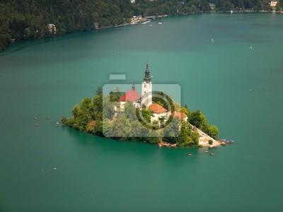 Insel mit Kirche