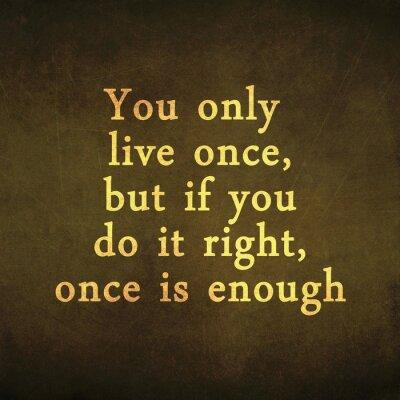 Inspirational motivierend Zitat auf alten Grunge-Hintergrund