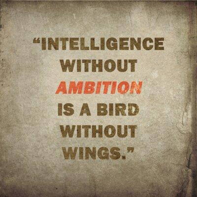 Inspirierend Zitat von Salvador Dali auf altem Papier Hintergrund