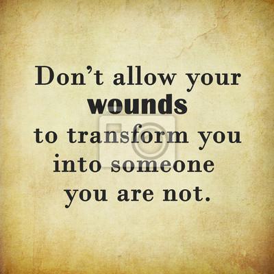 Inspirierend Zitat Wort von Paulo Coelho auf dem alten Papier Hintergrund