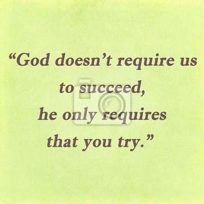 Inspirierend Zitat Worten von Mutter Teresa auf dem Papier Hintergrund
