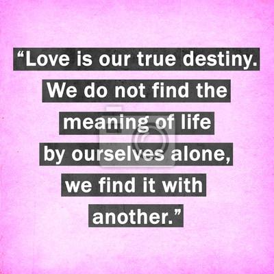 Inspirierend Zitat Worten von Thomas Merton auf rosa Hintergrund