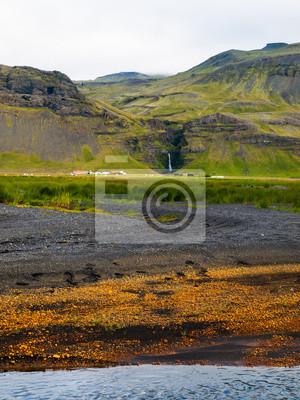 Sticker Isländische Landschaft