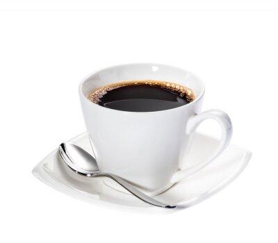 Sticker Isoliert Kaffee