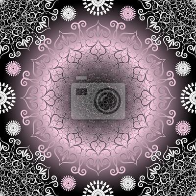 Jahrgang nahtlose Dunkel-Muster