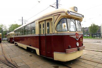 Sticker Jahrgang Straßenbahn
