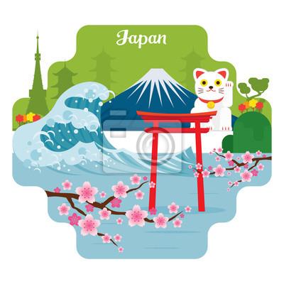 Japan Reise und Attraktion Sehenswürdigkeiten