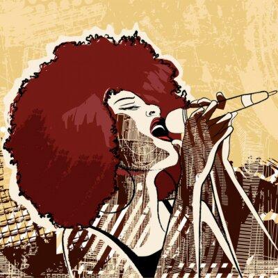 Jazz-Sängerin