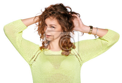 junge Frau sming