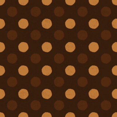 """""""Kaffee dot"""" nahtlose Hintergrund, Vektor-, EPS10."""