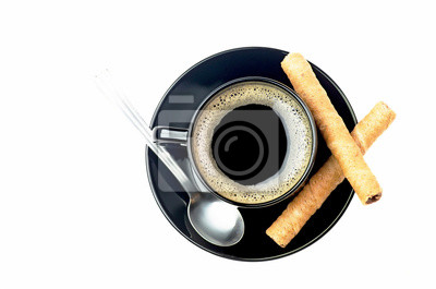 Kaffee und Waffeln