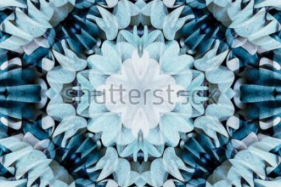Sticker Kaleidoskop mit schöner Verzierung der Farbe - gründliche Hintergrundzusammenfassung - nahtlos