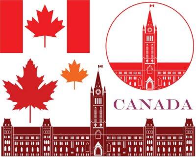 Sticker Kanada