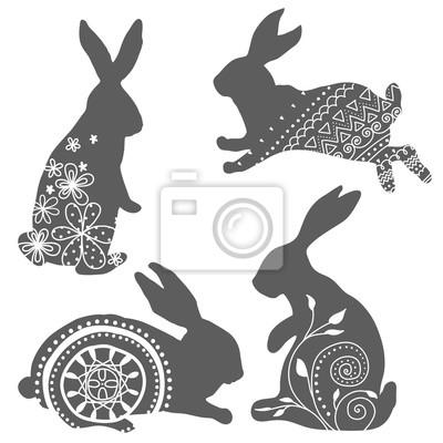 Kaninchen-Vektor 1