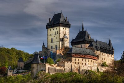 Karlstein - große gotische Burg