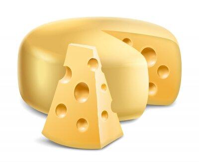 Sticker Käse