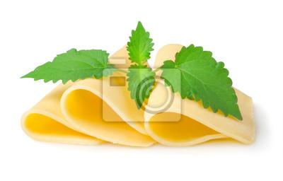 Käse und Minze