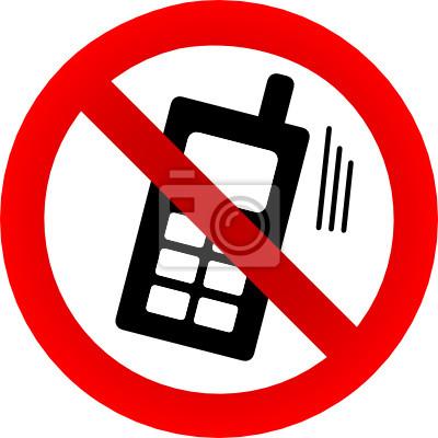 Kein Telefon erlaubt