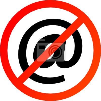 Keine E-Mail-Zeichen