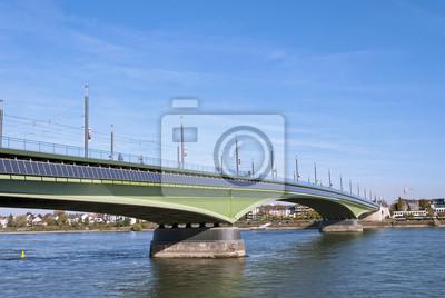 Kennedy-Brücke in Bonn, Deutschland
