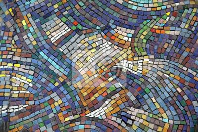Sticker Keramische Mosaik Hintergrund