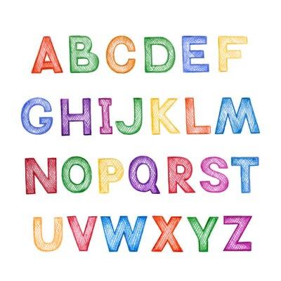 Sticker Kinder-Comics ABC