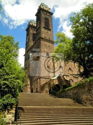 Kirche Treppen