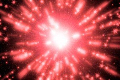Klarer bunter Hintergrund mit starburst. Abstrakte radiale Linien, die in Hintergrund verblassen.