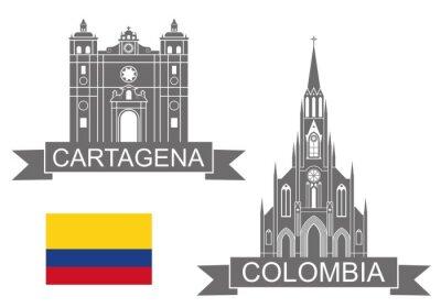 Sticker Kolumbien