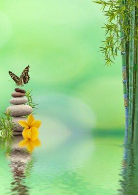 Sticker Konzept der Natur Entspannung, bien être-, Entspannungs-
