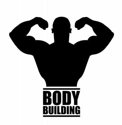 Sticker Körperbau