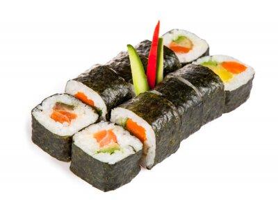 Sticker Köstliches Sushi Stücke