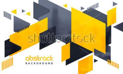Sticker Kreativer abstrakter Entwurf verzierte Hintergrund.