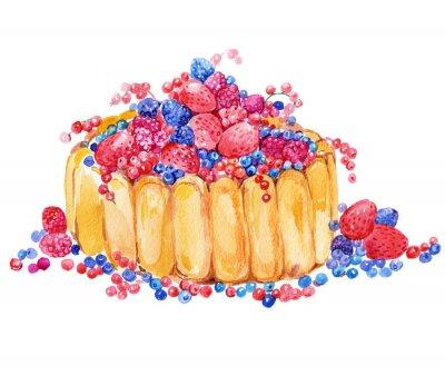 Sticker Kuchen