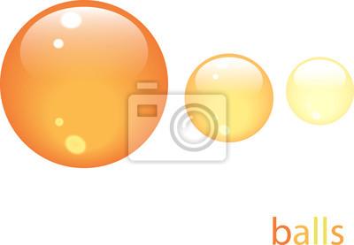 Kugeln icone orange