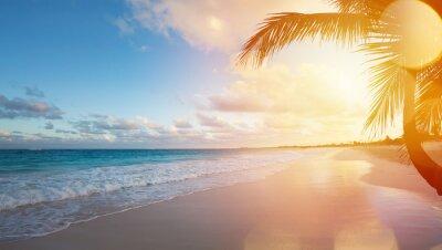 Sticker Kunst Sommerurlaub Ozean Strand