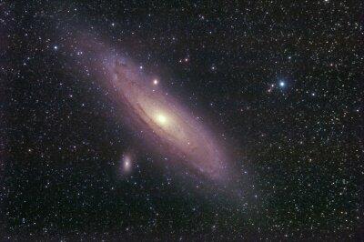 Sticker la galassia di Andromeda