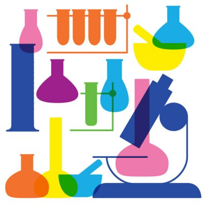 Labor-und Bildungs-Ikone - Becher.