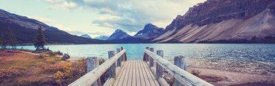Sticker Lake in Canada