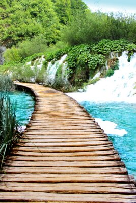 Sticker Lake von Plitvice magische Fahrt, Kroatien