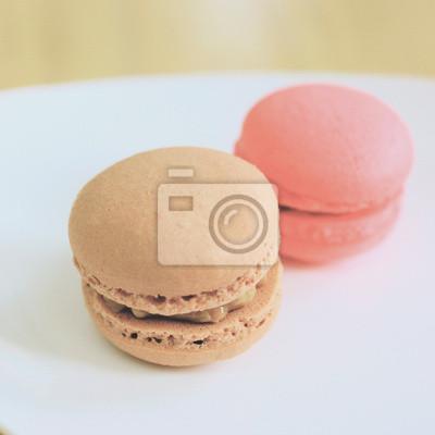 Leckere süße Macaron