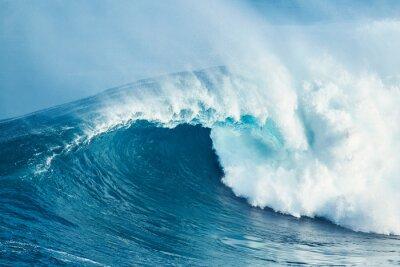 Sticker Leistungsstarke Ocean Wave