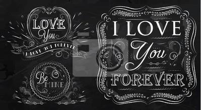 Liebe für immer Kreide