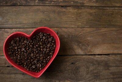 Sticker Liebe für kaffee,