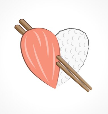 Liebe für Sushi