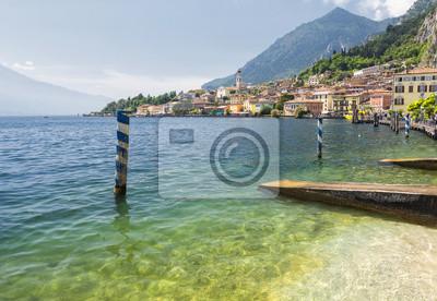 Limone sul Garda am Gardasee, Italien