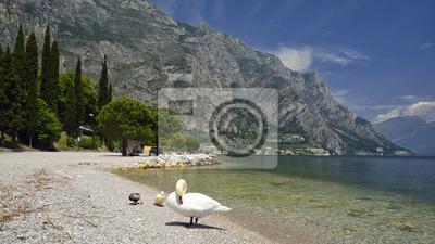 Limone sul Garda - jezioro Garda wir Włoszech